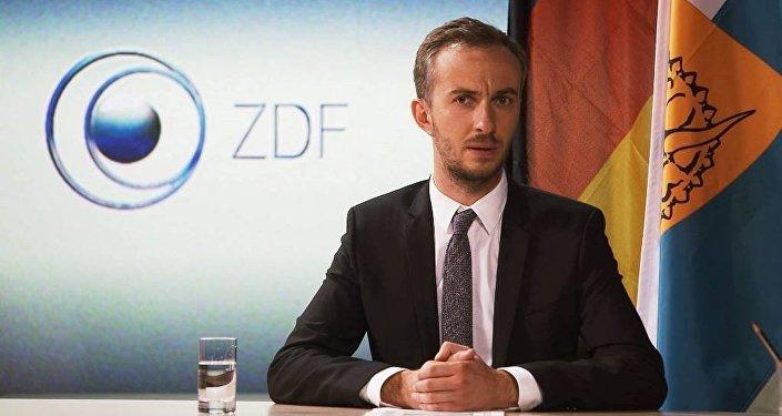 Alman komedyen Jan Böhmermann