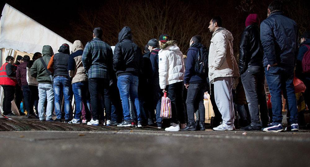 Almanya'daki sığınmacılar.