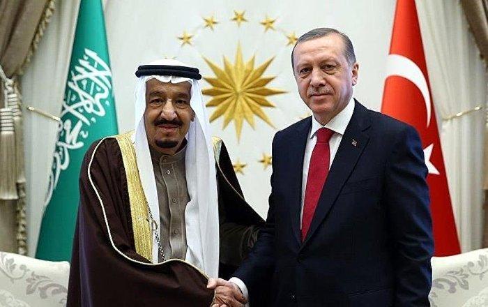 Erdoğan ile Suudi Kral Selman Suriye'yi görüştü