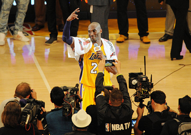 NBA'in efsane ismi Kobe Bryant
