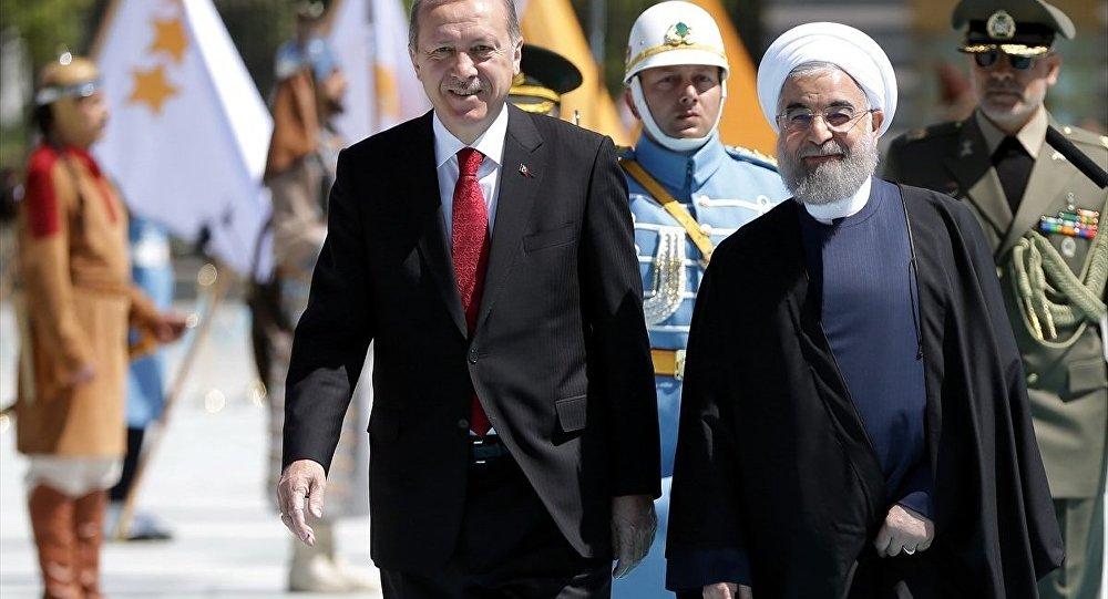 Türkiye Cumhurbaşkanı Recep Tayyip Erdoğan- İran Cumhurbaşkanı Hasan Ruhani