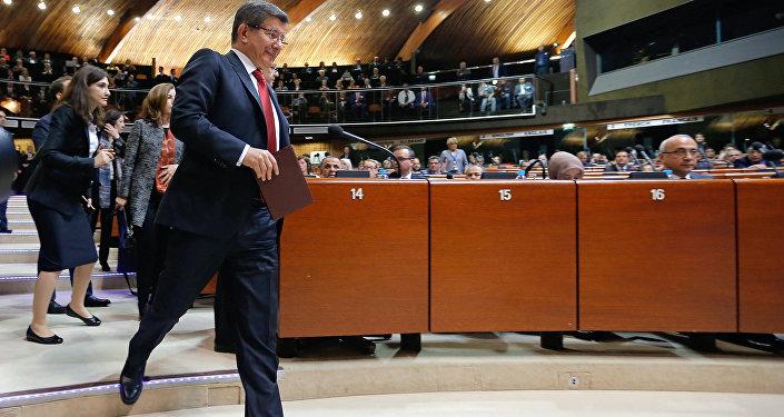 Ahmet Davutoğlu - Avrupa Konseyi Parlamenter Asamblesi