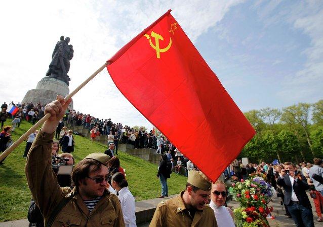 Sovyetler Birliği'nin Nazi Almanyası'nı yenilgiye uğrattığı 9 Mayıs Zafer Günü kutlamaları