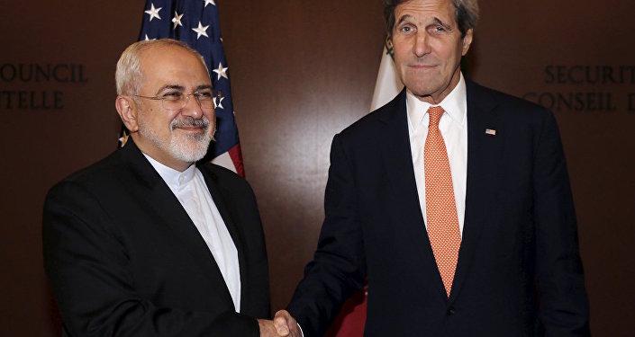 ABD Dışişleri Bakanı John Kerry ile İranlı mevkidaşı Cevad Zarif