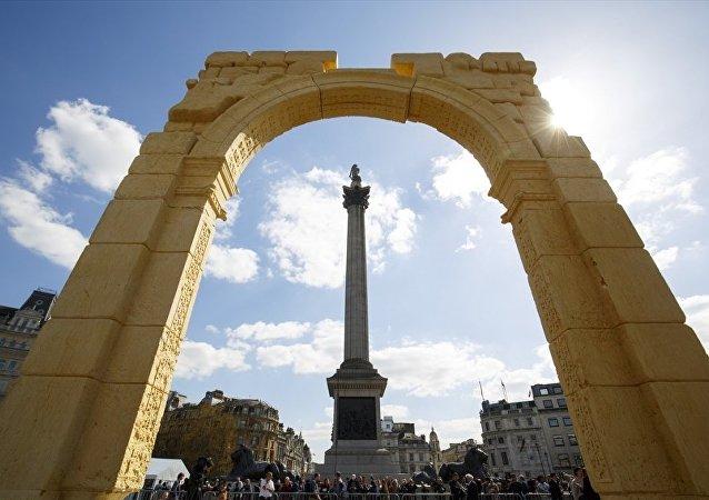 Palmira'nın 'Zafer Takı' Londra'da