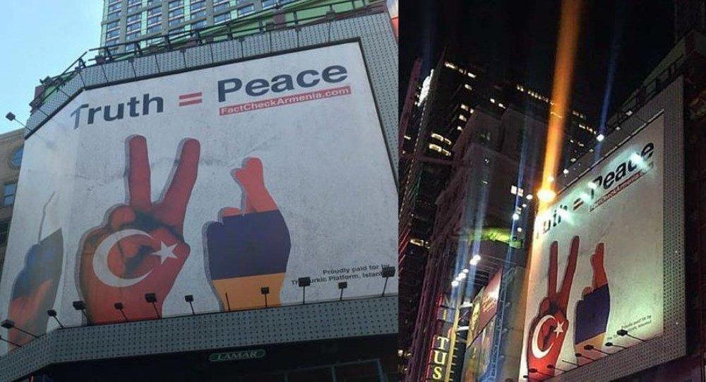 ABD'de 'Fact Check Armenia' reklamlaro