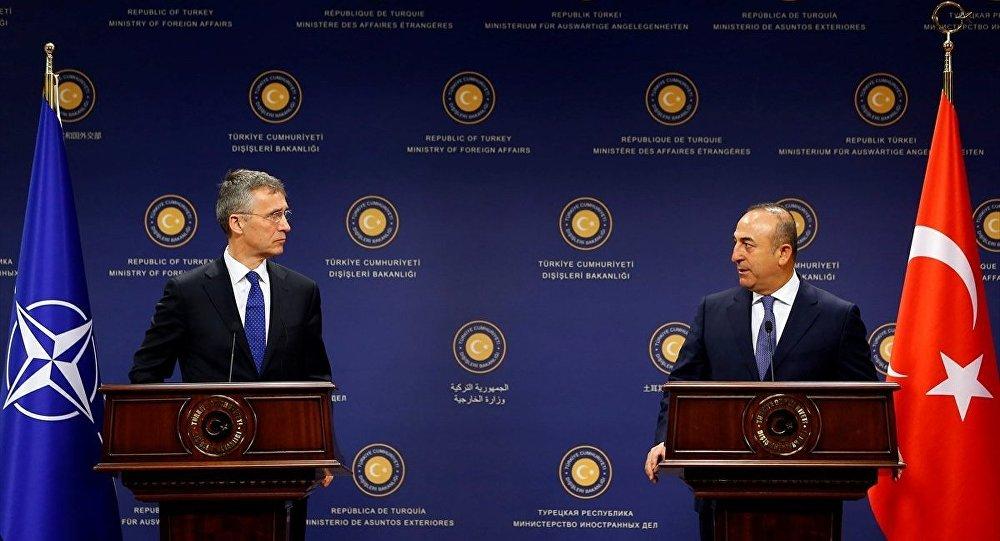 Dışişleri Bakanı Mevlüt Çavuşoğlu - NATO Genel Sekreteri Jens Stoltenberg