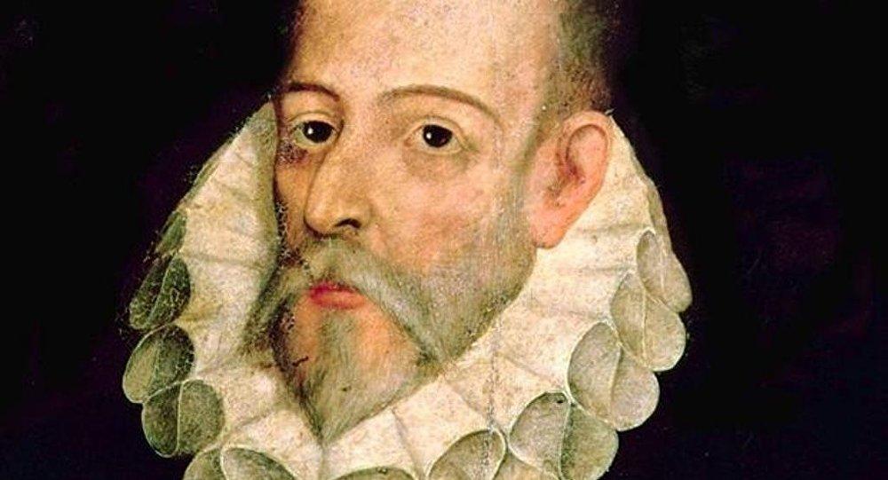 İspanyol yazar Miguel de Cervantes