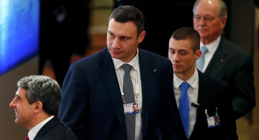 Kiev Belediye Başkanı Vitaliy Kliçko