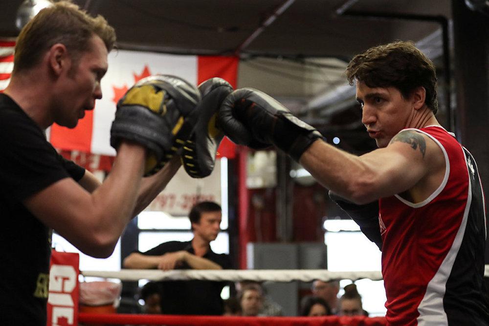 Başbakanın ziyaret ettiği tarihi Gleason's Gym, 1937 yılında boksör Peter Gagliardi tarafından kuruldu.