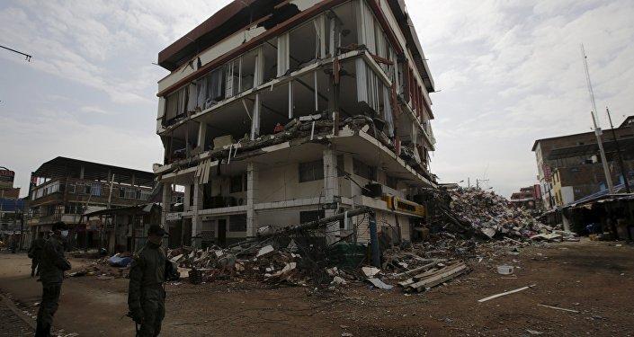Ekvador'da deprem