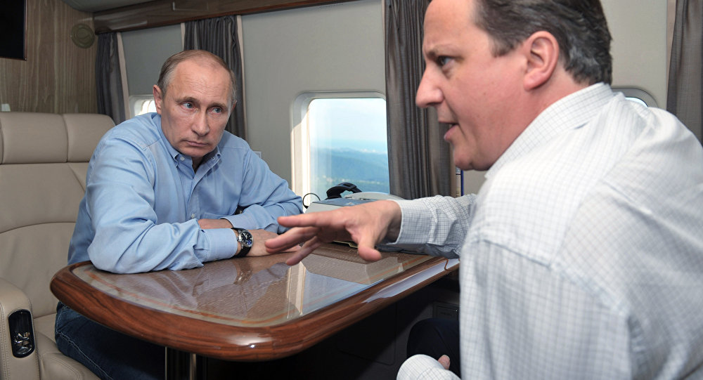 David Cameron - Vladimir Putin / 10 Mayıs 2013