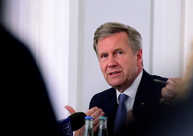 Almanya'nın eski Cumhurbaşkanı Christian Wulff
