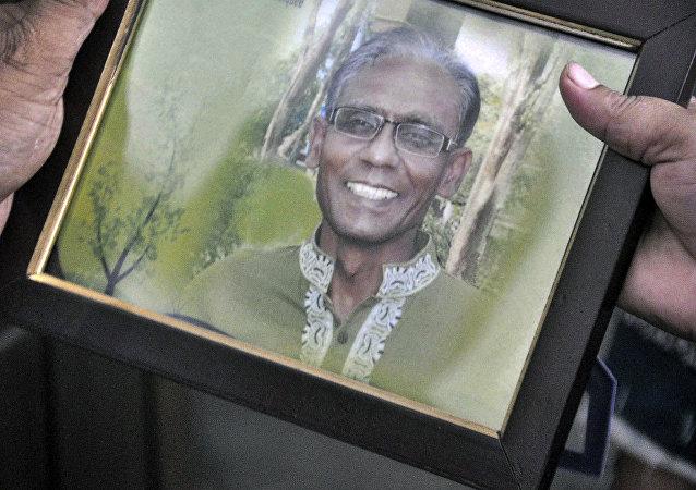 Bangladeşli profesör Rezaul Karim Sıddık
