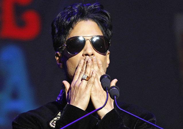 ABD'li şarkıcı Prince Rogers