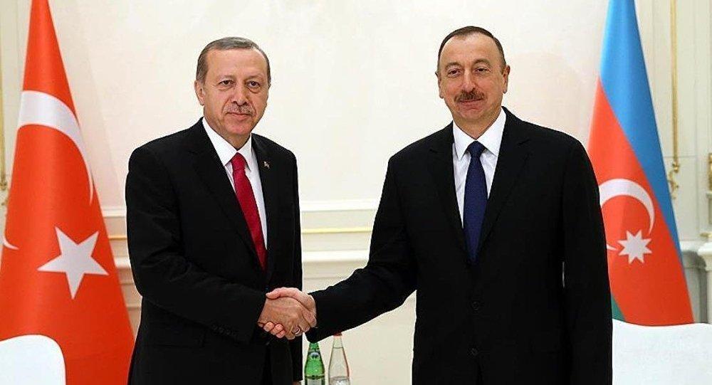 İlham Aliyev - Tayyip Erdoğan