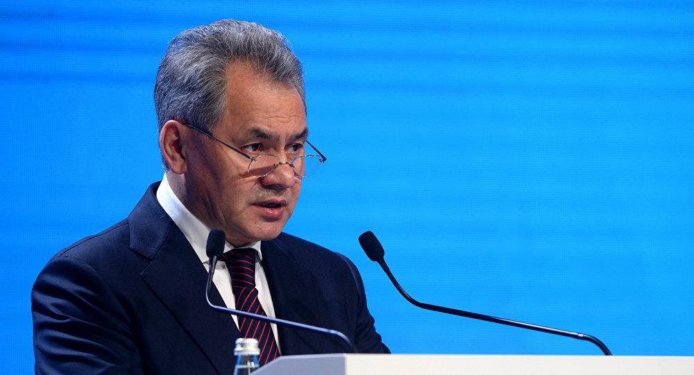 Rusya Savunma Bakanı Sergey Şoygu - Moskova 5. Uluslararası Güvenlik Konferansı