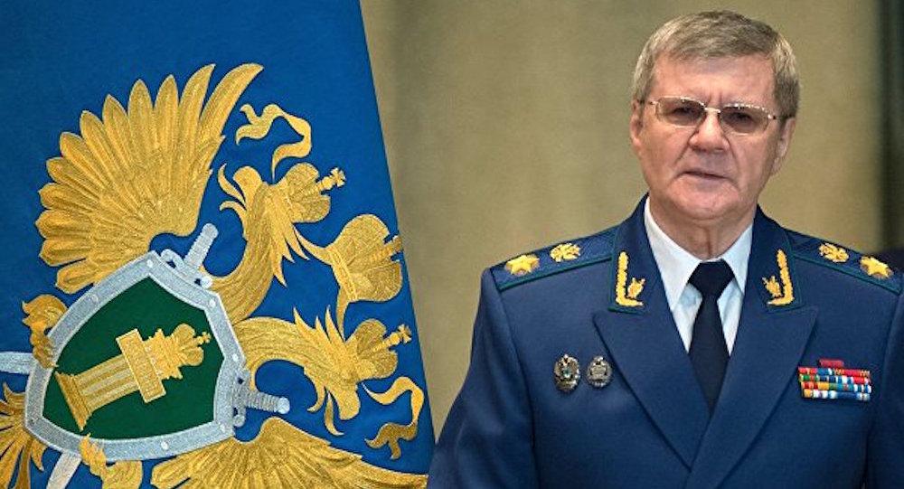 Rusya Başsavcısı Yuriy Çayka