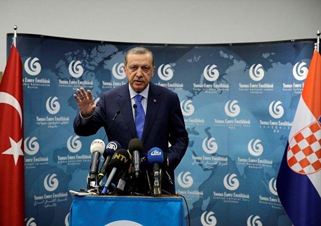 Cumhurbaşkanı Recep Tayyip Erdoğan, Hırvatistan'da