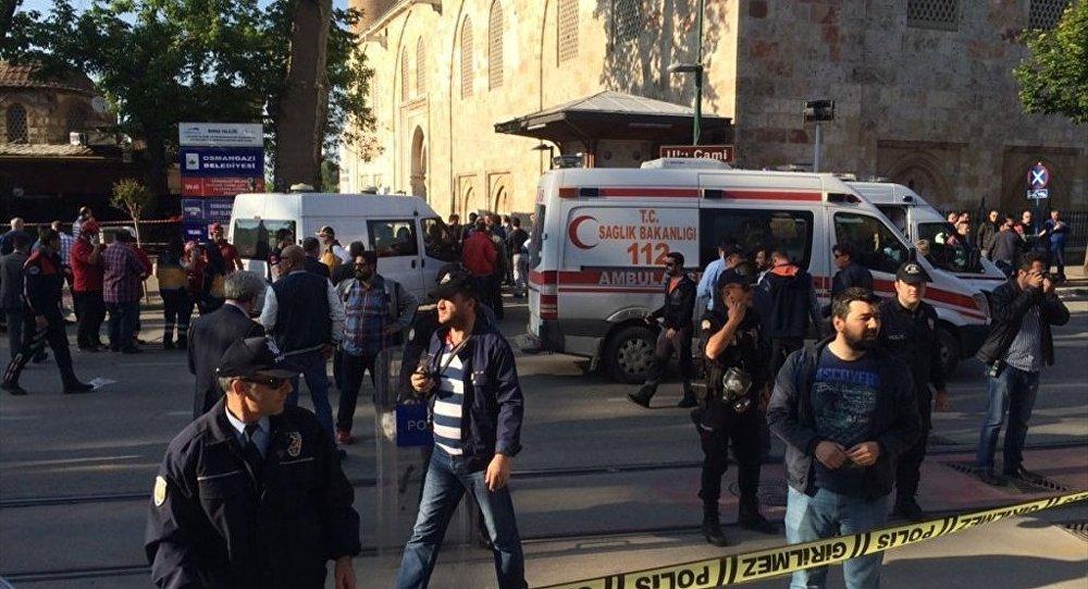 Bursa'da canlı bomba saldırısı