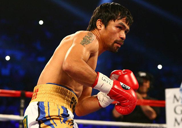 Filipinli boksör Manny Pacquiao