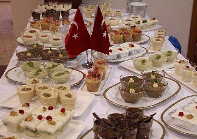 Rusya'da Türk Tatlıları şöleni yapıldı