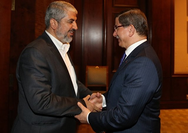 Ahmet Davutoğlu - Halid Meşal