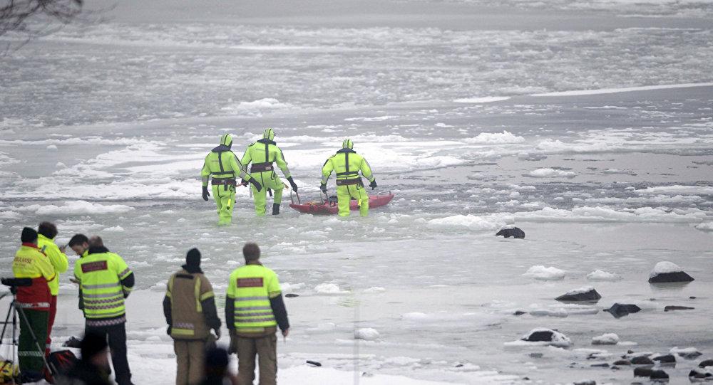 Norveç kurtarma ekipleri