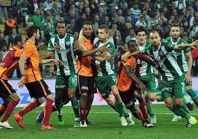 Bursaspor ile Galatasaray