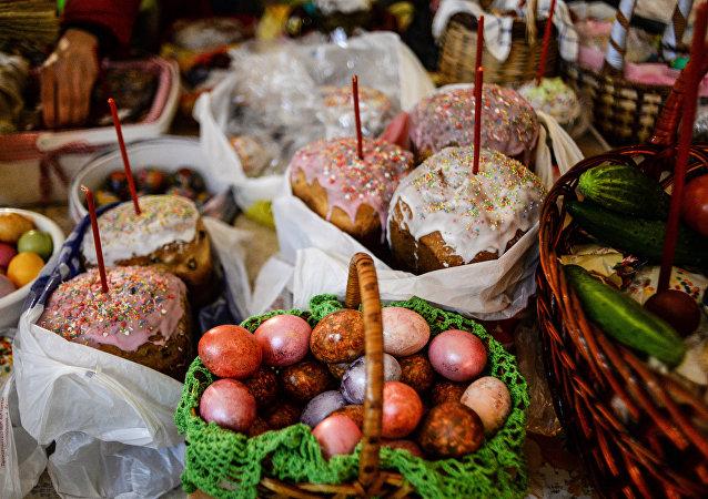 Rusya'da Paskalya kutlamaları
