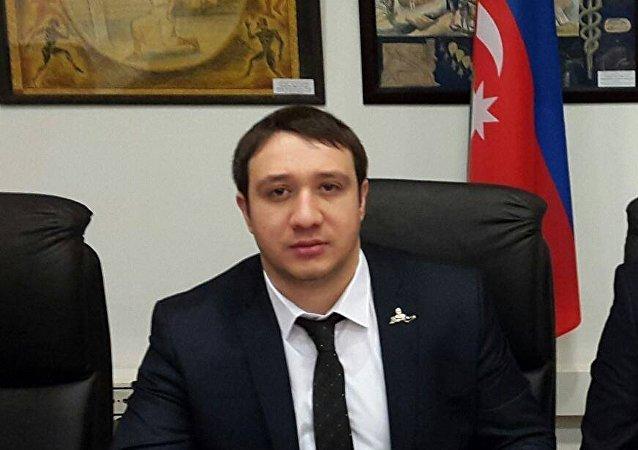 Azerbaycan-Slav Gençleri Rusya Temsilciliği Başkanı Toğrul Allahverdili