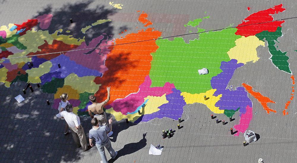 Rusya haritası