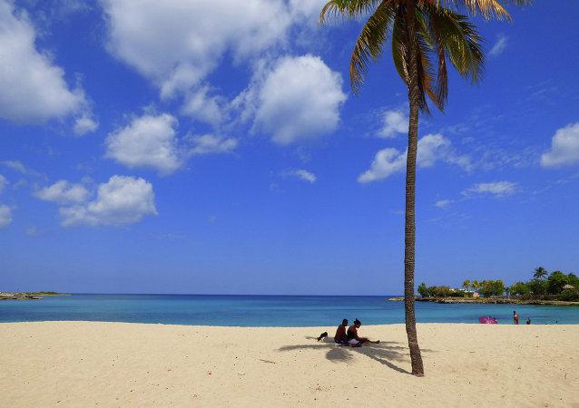 Karayip sahilleri-Küba