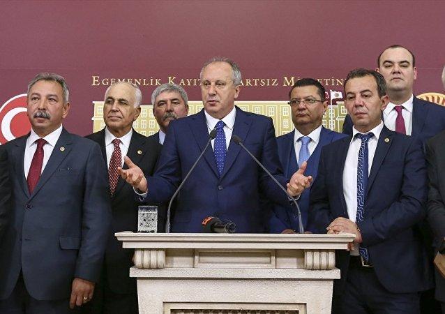 CHP Yalova Milletvekili Muharrem İnce