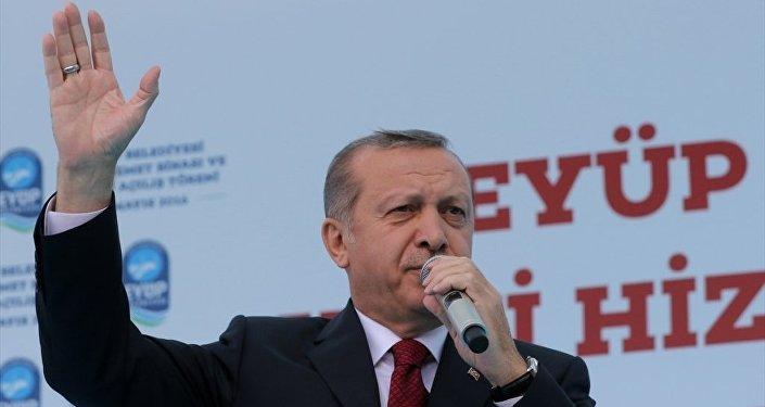 Cumhurbaşkanı Recep Tayyip Erdoğan, Eyüp Belediyesi hizmet binası ve toplu açılış törenine katılarak konuşma yaptı.