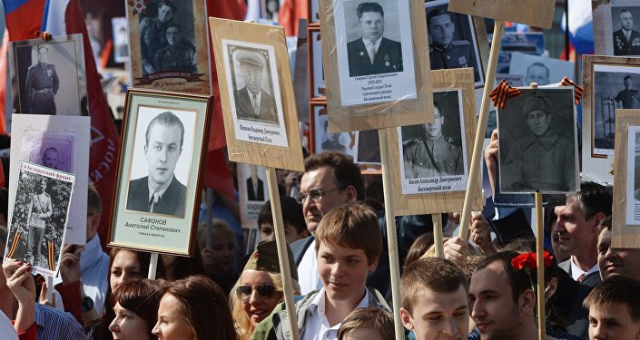 Rusya 'Ölümsüz Alay' için yürüdü