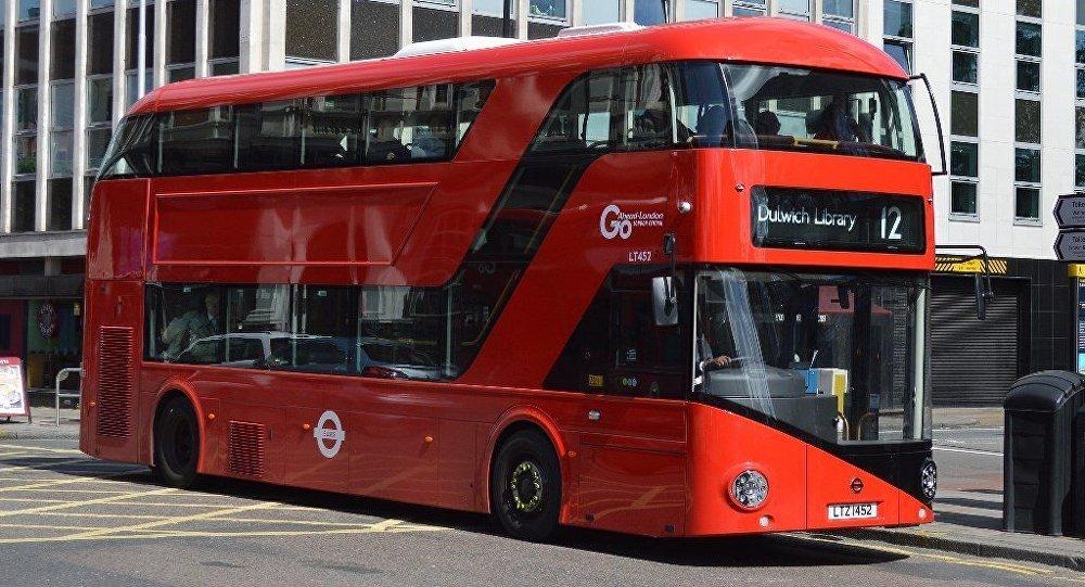 Londra - otobüs