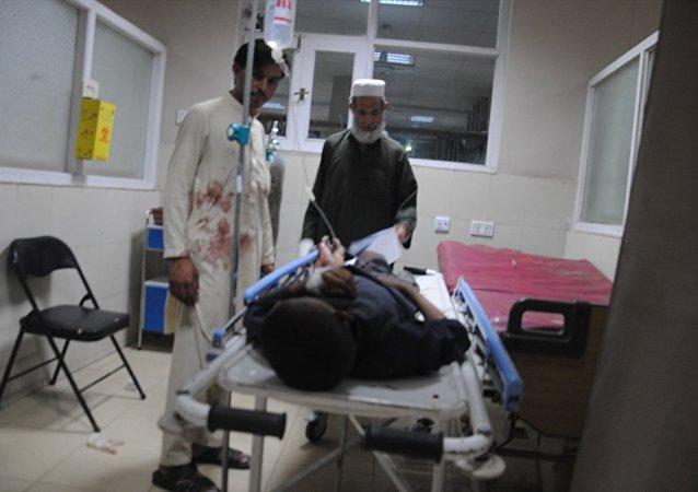 Afganistan'ın Nangarhar kentinde bombalı araçla intihar saldırısı düzenlendi.