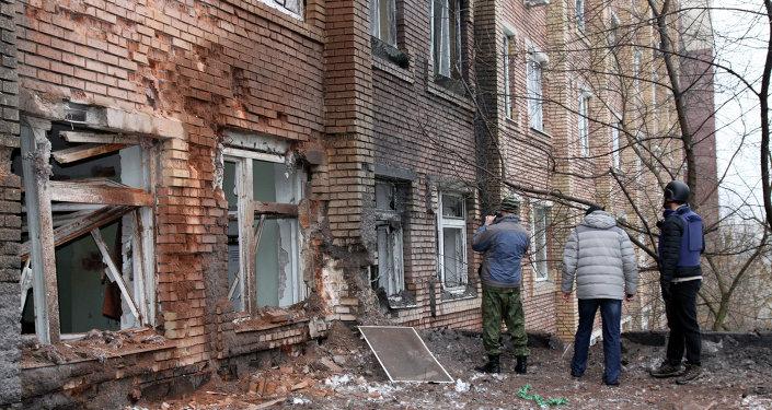 Donetsk - Gazeteciler