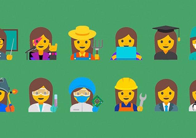 Google'dan 'çalışan kadınlar' emojileri