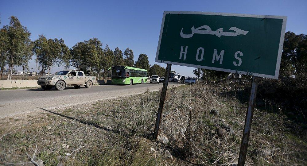 Suriye'nin Humus kenti.