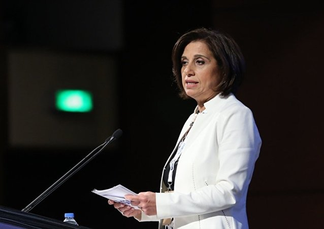 TÜSİAD Yüksek İstişare Konseyi Toplantısı, Sabancı Center'da yapıldı. TÜSİAD Yönetim Kurulu Başkanı Cansen Başaran Symes, toplantıda konuşma yaptı.