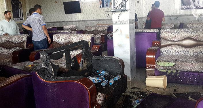 Irak'ın Balad kentindeki Real Madrid taraftar derneğine IŞİD saldırısı.