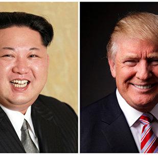 Kuzey Kore lideri Kim Jong-un- Donald Trump