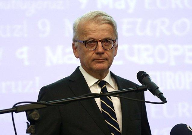 Avrupa Birliği (AB) Türkiye Delegasyonu Başkanı Büyükelçi Hansjörg Haber