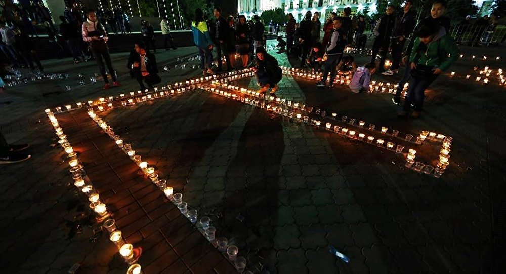 Kırım Tatarları, sürgünde ölenleri andı
