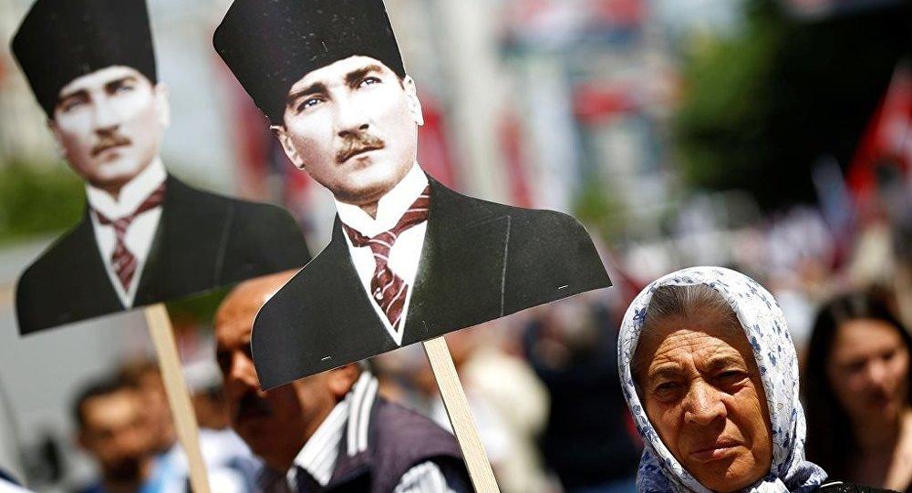 19 Mayıs Atatürk'ü Anma Gençlik ve Spor Bayramı, İstanbul'da kutlandı.
