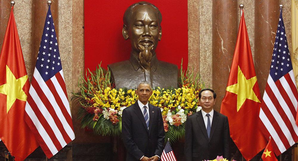 Barack Obama - Tran Dai Quang