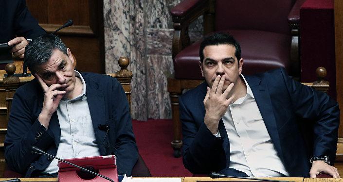 Öklid Çakalotos - Aleksis Çipras