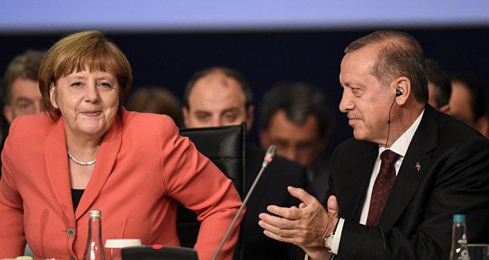 Angela Merkel - Recep Tayyip Erdoğan